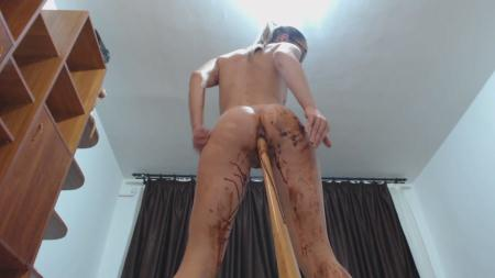 Ella Gilbert - Chocolate With Ella Gilbert - Amateurs Scat - Solo, Scat, Defecation [HD 720p]