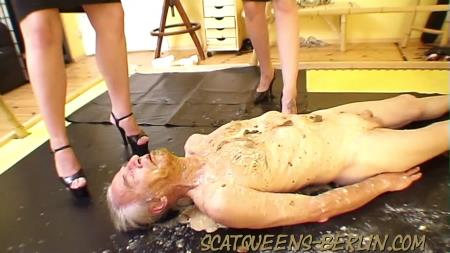 Lady Grace - First Time P2 - ScatqueensBerlin - Femdom Scat - Shitting, Domination [HD 720p]