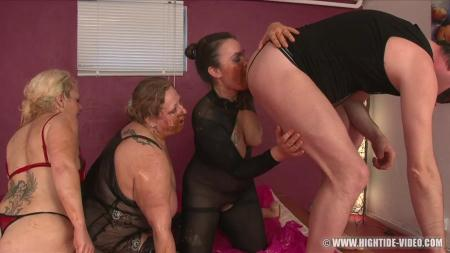 Gina, Francesca, Nadia, 1 Male - More Little Pigs - Hightide-Video - Enema, BBW Scat [HD 720p]