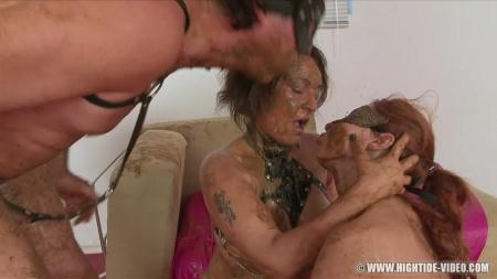 Regina Bella, Gina, 1 Male - SCAT SUBMISSION 2 - Hightide-Video - Scat, Lesbians, Group [HD 720p]