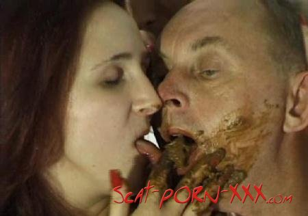 Jurgen and Hot Girls - Dirty scat desires or Hungry Jurgen - CaviarExperience - Milf Scat, Amateur, Blowjob [SD]
