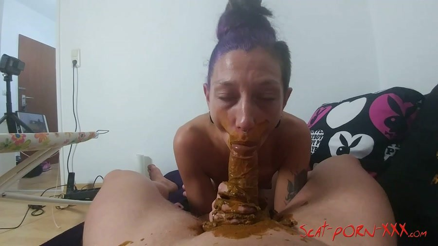 Germany Scat (kv Girl) Mouth Full Of Shit And Cock Blown