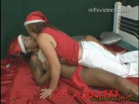 Andressa, Latifa, Karla - Mfx-1136 - Your Christmas Scat Wish - MFX-Media - Swallow, Lesbians [DVDRip]