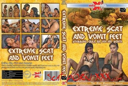 Erika, Bia, Vivi, Renata - [SD-6019] Extreme Shit and Vomit Foot - MFX Media - Domination, Brazil [HDRip]