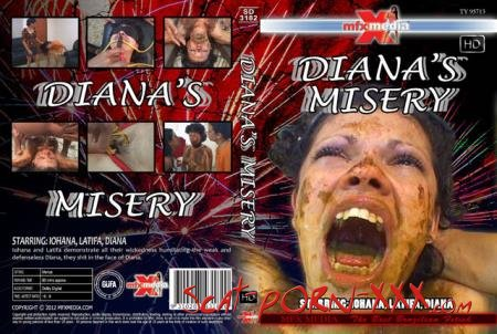 Iohana, Latifa, Diana - SD-3182 Diana's Misery - MFX Media - Domination, Brazil [HDRip]