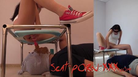 Christina - MilanaSmelly - I decided to do it again - Scat Shop - Big shit, Domination [HD 720p]