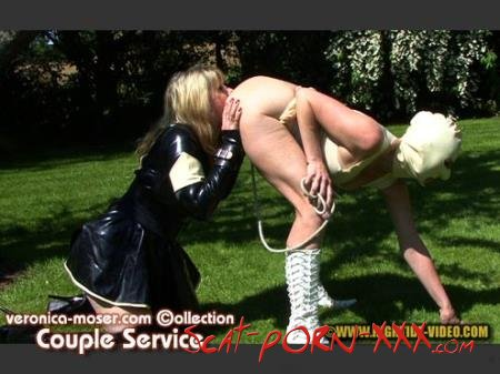 Veronica Moser, Madame LL, 1 male - VM40 - COUPLE SERVICE - Hightide Scat - Scatology, Latex, Domination [HD 720p]