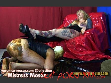 Veronica Moser, 1 male - VM42 - MISTRESS MOSER - Hightide Scat - Latex, Humiliation, Strapon [HD 720p]