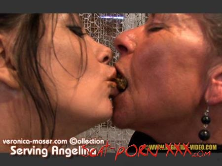 Veronica Moser, Angelina - VM44 - SERVING ANGELINA - Hightide Scat - Lesbians, Smoking, Mature [HD 720p]