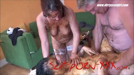 Betty, Victoria - Massage Scat Parlour 2 - DirtyScat -  [HD 720p]