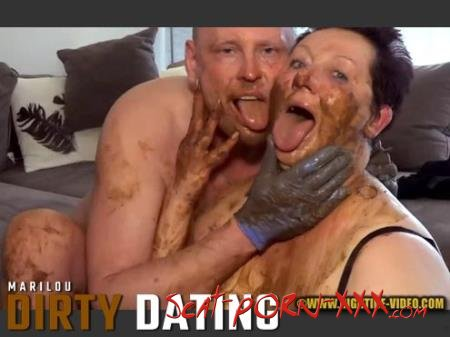 Marilou, 1 male - DIRTY DATING - Hightide-Video.com - Milf, Blowjob, Shit [HD 720p]